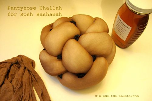 pantyhose challah / real honey