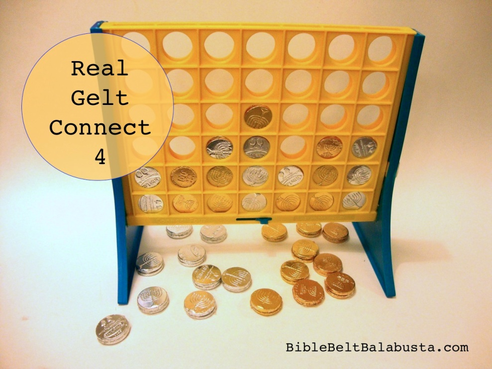*Real* Gelt Connect 4