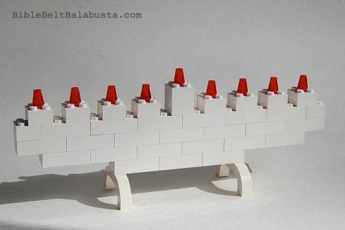 Lego menorah