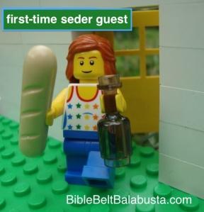 PassoverLegoFirstTimeSederGuest