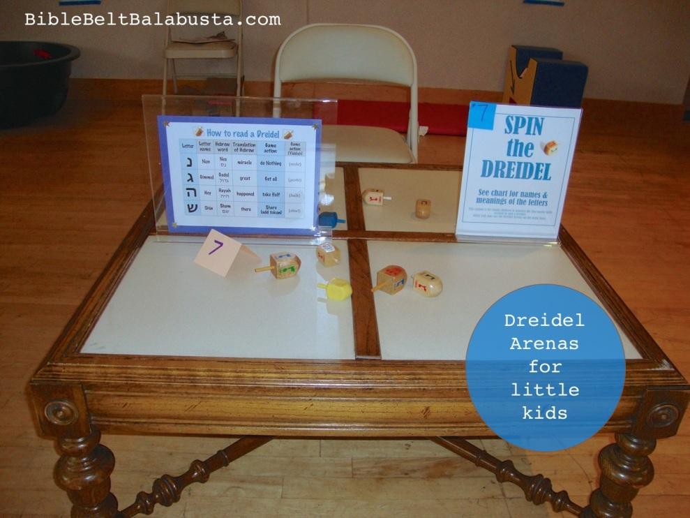 Dreidel Arenas for littles