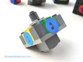 DIY LEGO dreidel station