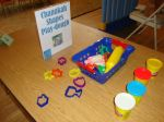 Chanukah Playdo (Play-dough) as Carnival Station