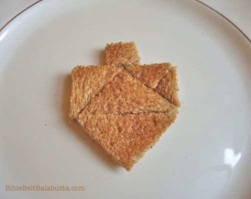tangram dreidel toast