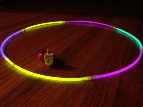 Glow in the Dark Dreidel Arena