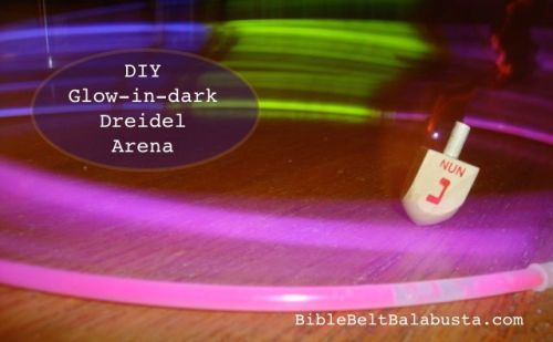 Instant DIY Glow Dreidel Arena