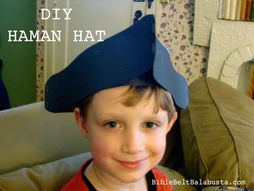 DIY Haman Hat
