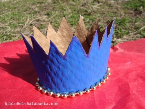 Re-Purposed Coffee Sleeve Crown