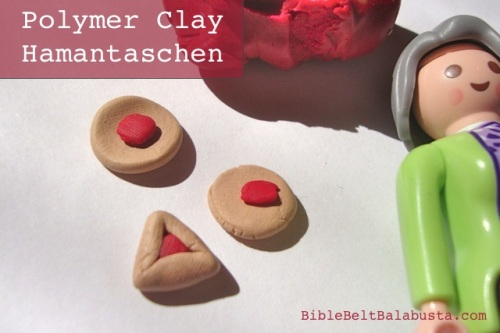 sculpey clay hamataschen