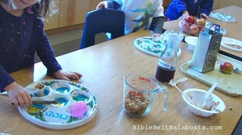 Kindergarten Sunday School class