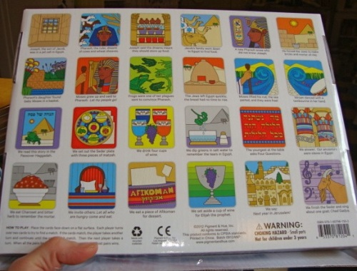 All cards pictured on the back of the box