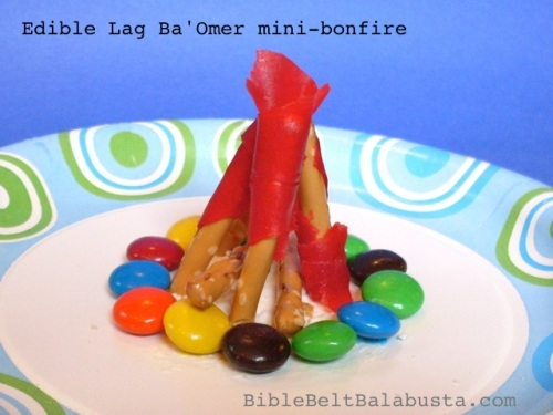 Edible fire for Lag Ba'Omer