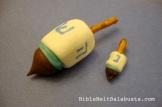 Marshmallow dreidels regular and mini