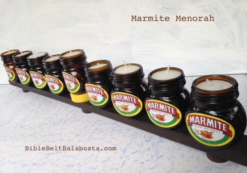 Marmite Menorah