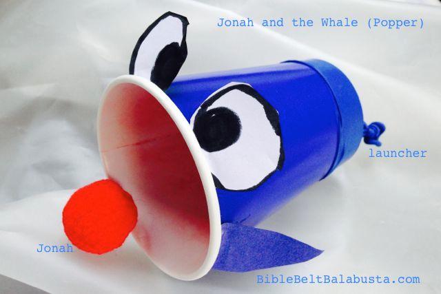 Spew Jonah With A Whale Popper Bible Belt Balabusta