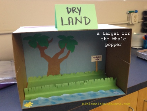 Spew Jonah onto Dry Land!