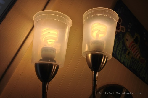 clear soup container lampshades