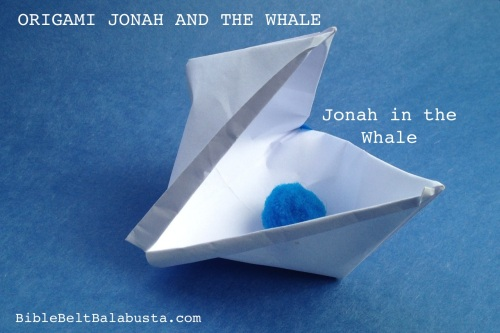 Jonah And The Whale Origami Storytelling Prop Bible Belt Balabusta