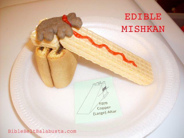 Edible Mishkan Build And Eat Me A Tabernacle Bible Belt Balabusta