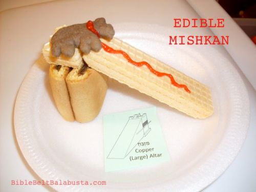 Edible Mishkan - Tabernacle