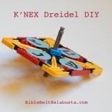 spinning K'NEX dreidel