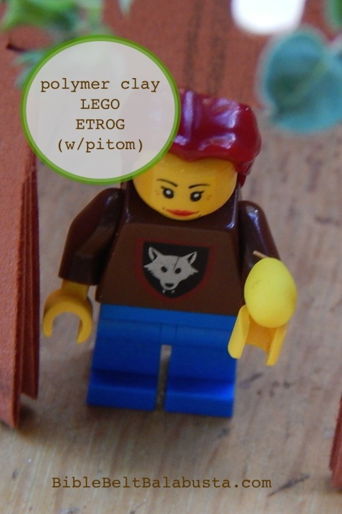 Because even minifigs have mitzvot