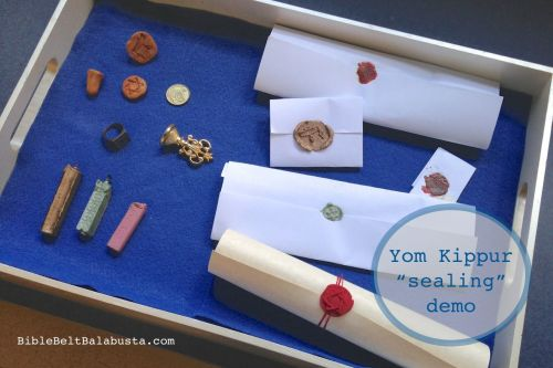 wax seals, tray