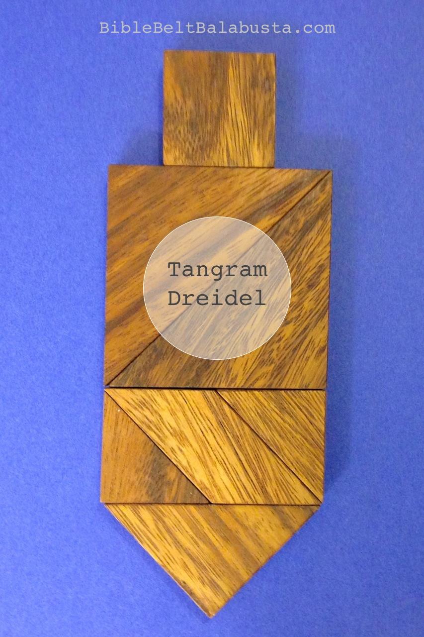 Jewish Tangrams: Hanukkah Dreidels (printable)   Bible ...