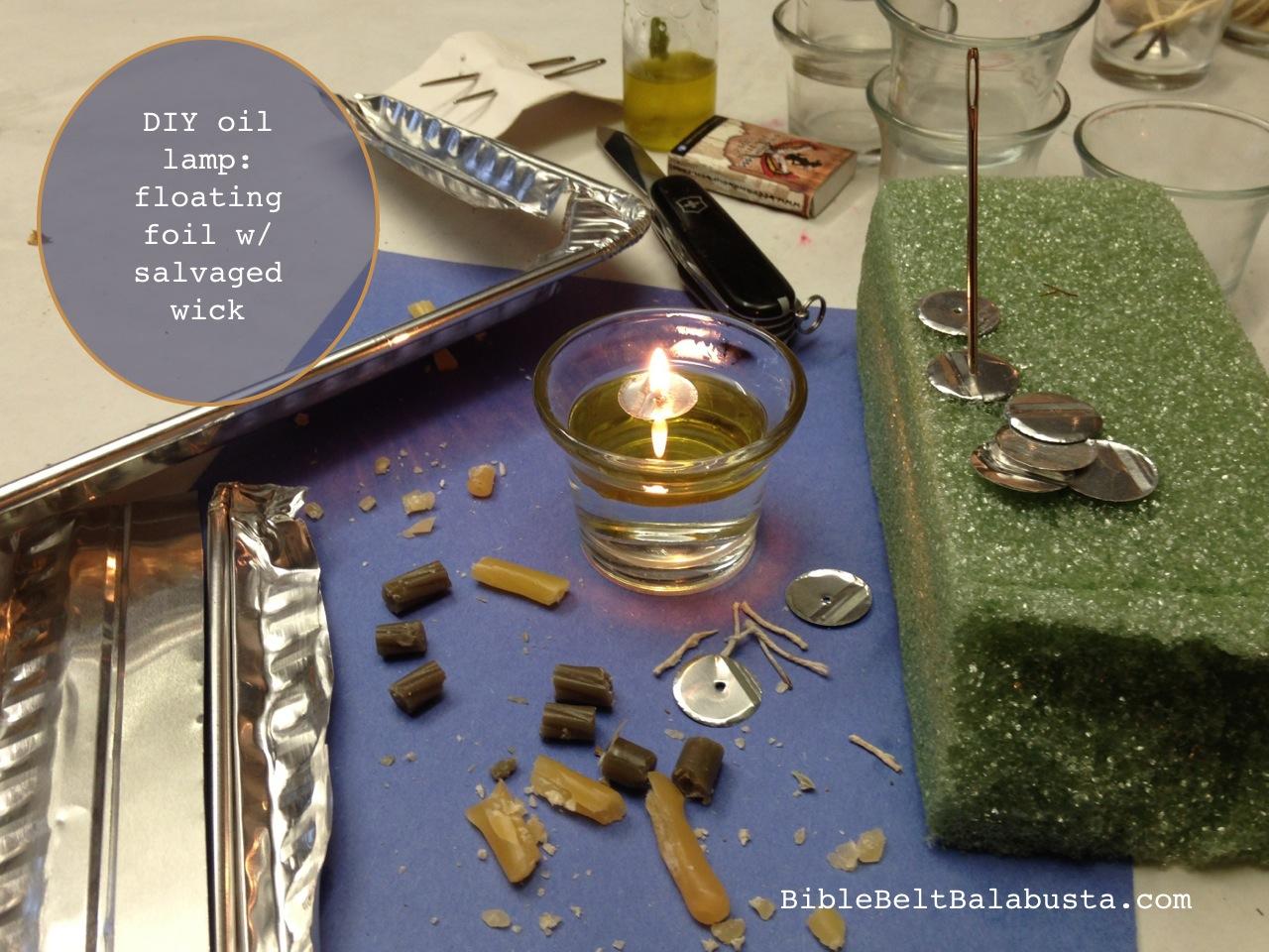 Oil Menorahs, DIY or Buy   Bible Belt Balabusta