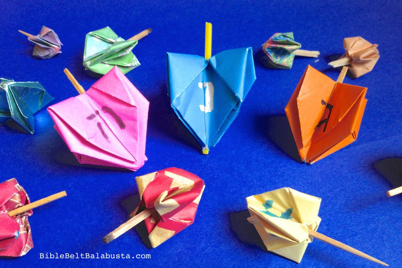 the dreidel game instructions