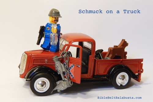 Schmuck on a Truck (I went to school with this guy)