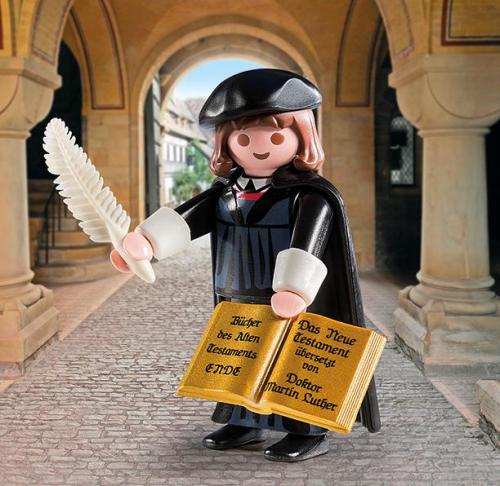 Playmobil's Martin Luther doll