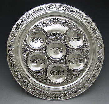 seder plate placement