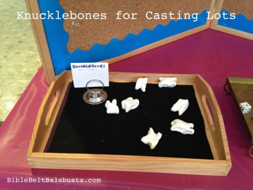 Knucklebone reproductions for play