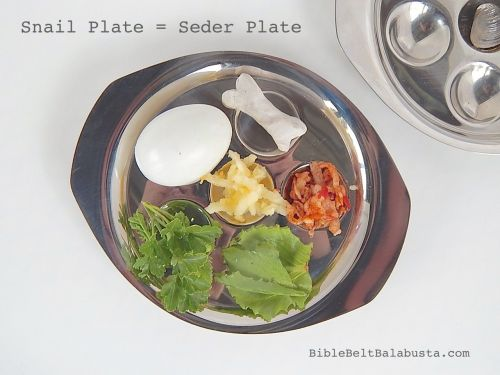 seder plate, kid-sized
