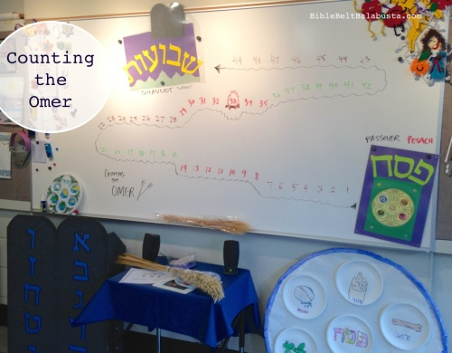 from Pesach to Shavuot