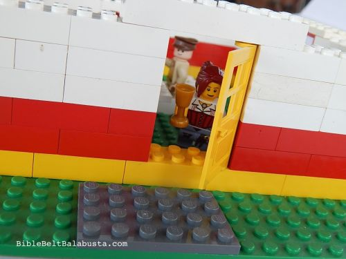 LEGO Door for Elijah closeup