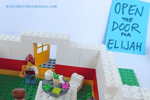 LEGO Elijah Door from inside