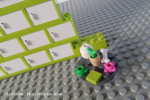 LEGO omer counter seder plate