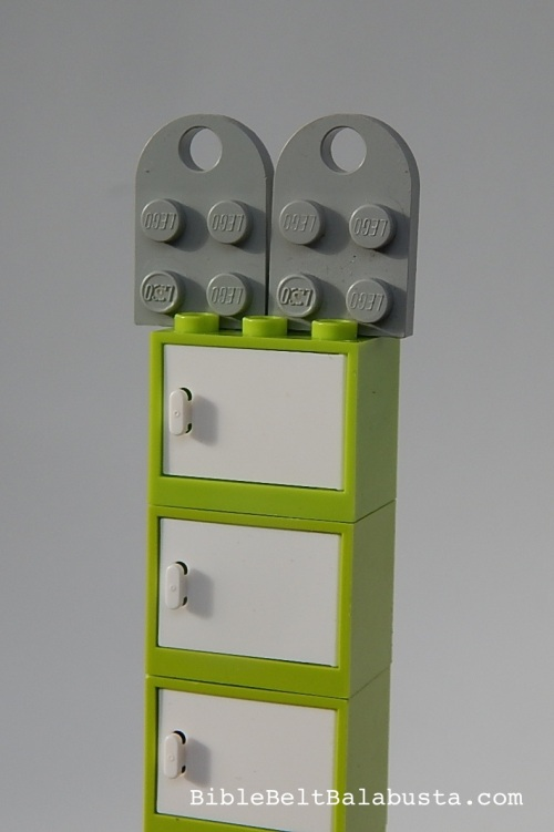 LEGO omer counter vertical modular