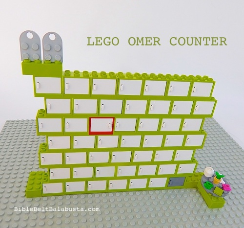 LEGO omer counter
