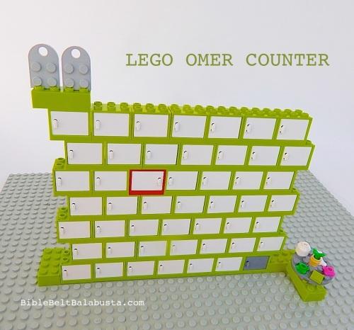 LEGO omer counter