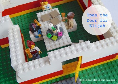 Open the [LEGO] door for Elijah