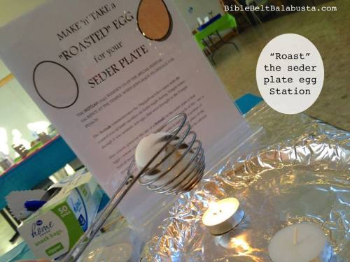 Roast a beitzah (egg) to take home for your seder plate