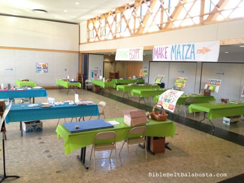 Seder step stations