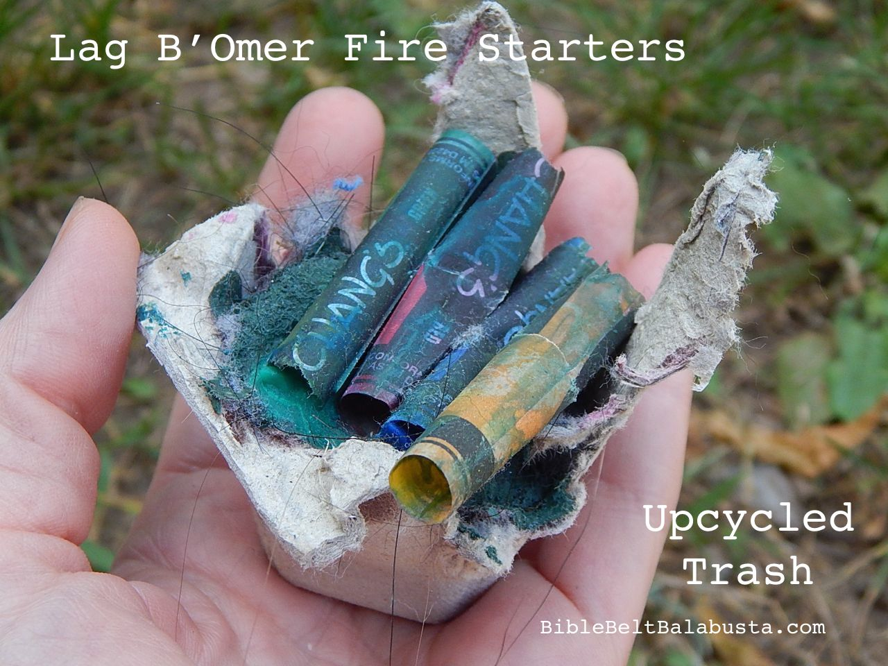 dryer lint fire starters fun with trash for lag b omer bible