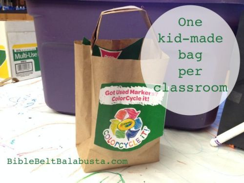 the kid that made these bags had never used a stapler before. He's an expert now!