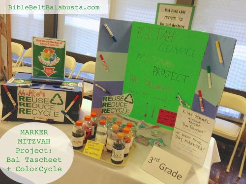 Marker Mitzvah Display