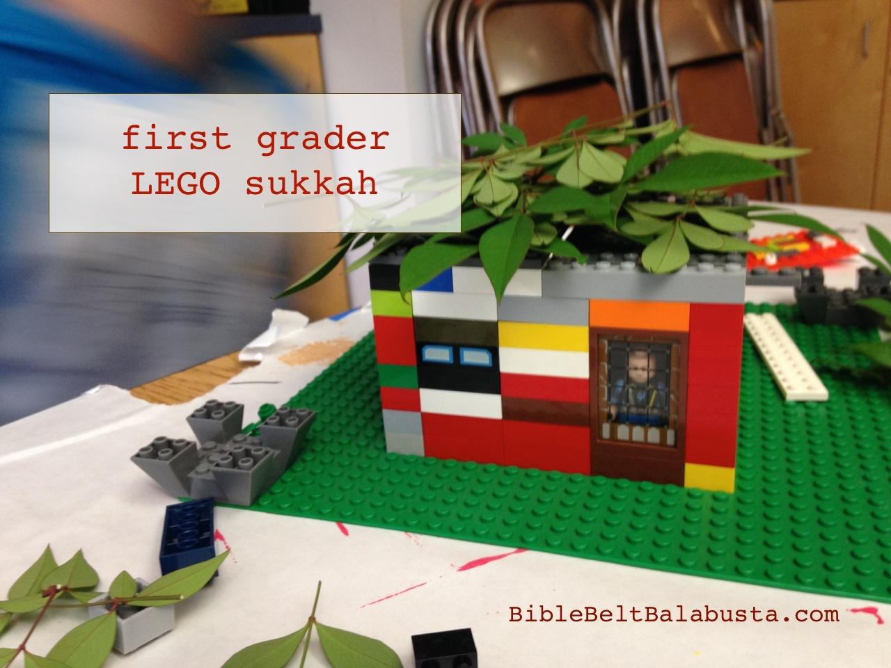 Group Build Lego Model Sukkah Setup Bible Belt Balabusta