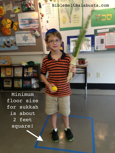 Sukkah MINIMUM SIZE